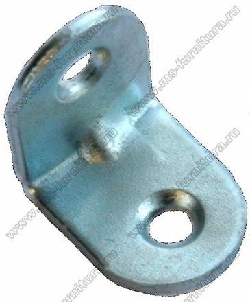 Уголок мебельный металл 20х20х16, 2 отв. 1