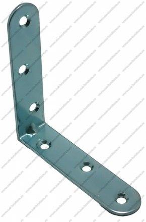 Уголок мебельный металл 80х80х20, 6 отв. 1