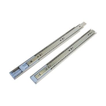 Шариковые направляющие h=45 L=400 мм с доводчиком 45-400D 1