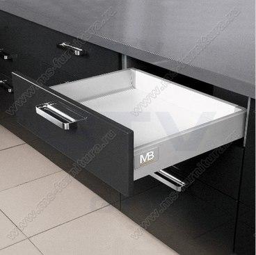 Ящик металлический низкий Modern box GTV PB-D-KPL400A 1