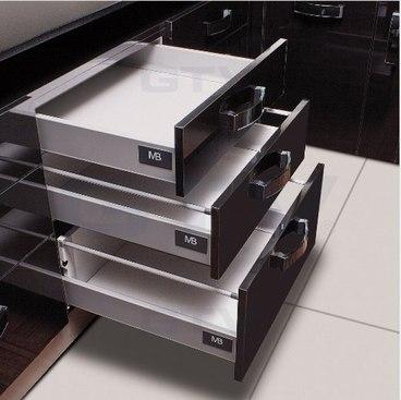 Ящик металлический средний Modern box GTV PB-D-KPL400В 1