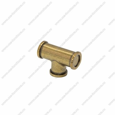 Ручка-кнопка античная валенсийская бронза K-4120 ABV 1