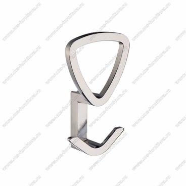 Мебельный крючок хром KR-0230 1