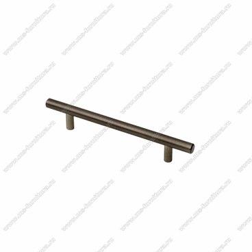 Ручка-рейлинг черненый старинный антрацит d12 ммR-3020 ABB 1