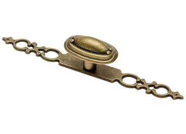 Ручка-кнопка античная бронза UZ-WP1146-04 1