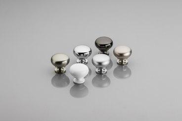 Ручка-кнопка шлифованная сталь GS-BERGA-1-06 1