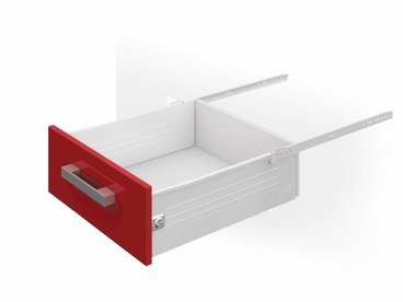 Метабокс 86х350мм белый MB08601W/350 1