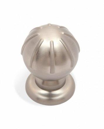 Ручка-кнопка матовый атласный никель TILDA RC308MBSN.4 1
