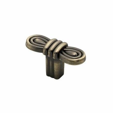 Ручка-кнопка атласная бронза RK-101 MAB 1