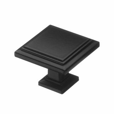 Ручка-кнопка матовый черный RK-105 BL 1