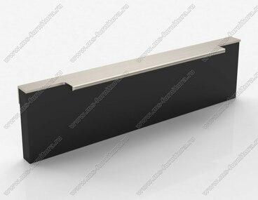 Ручка торцевая 400 мм матовый черный BL-40-04 2