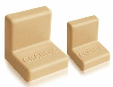 Заглушка для уголка Grandis малый пластиковый груша 20х20 мм 1