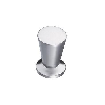 Ручка-кнопка матовый хром K-1010 SC 1