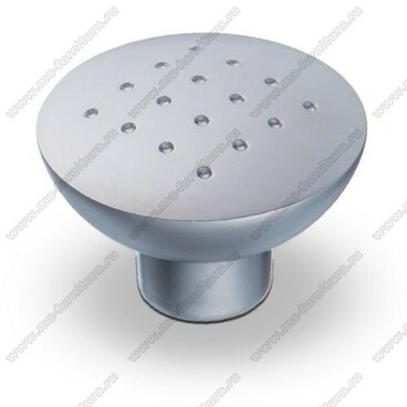 Ручка-кнопка матовый хром K-1070 SC 1