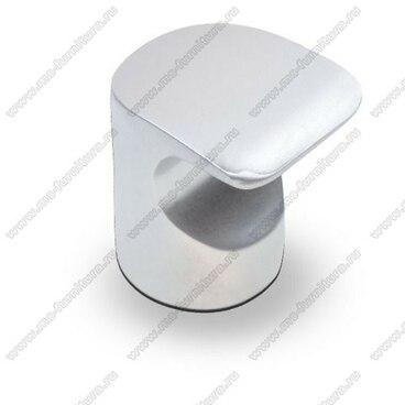 Ручка-кнопка матовый хром K-1100 SC 1