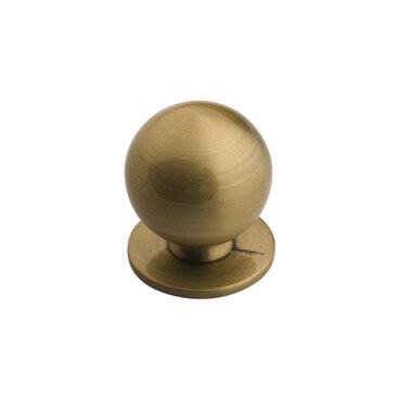 Ручка-кнопка бронза K-1120 BA 1