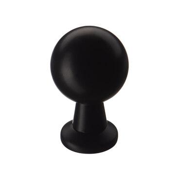 Ручка-кнопка матовый черный K-1150 BL 1