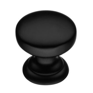 Ручка-кнопка матовый черный K-2360 BL 1