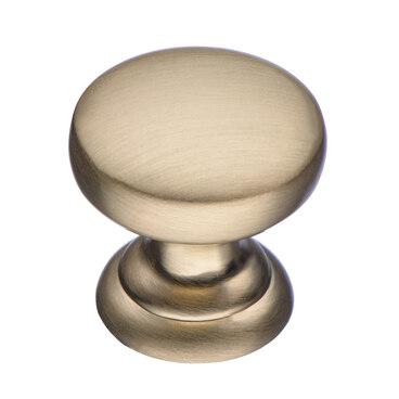Ручка-кнопка матовое золото K-2360 BSG 1