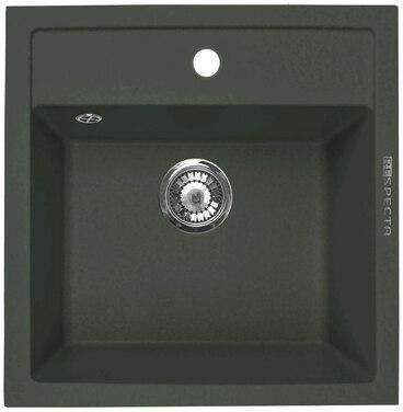 Кухонная мойка Respecta Cubo RC-51 черный опал RC51.101 1