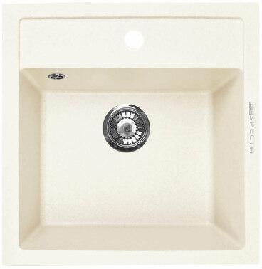 Кухонная мойка Respecta Cubo RC-51 сливочная ваниль RC51.108 1