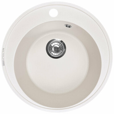 Кухонная мойка Respecta Sfera RS-45 белый камень RS45.105 1