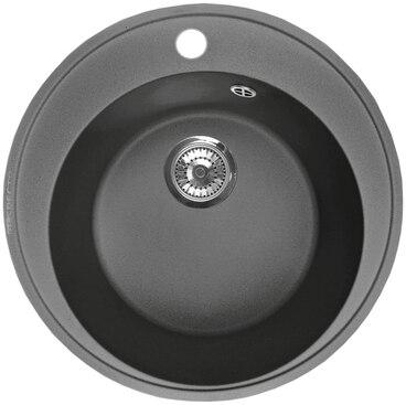Кухонная мойка Respecta Sfera RS-45 черный опал RS45.101 1