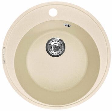 Кухонная мойка Respecta Sfera RS-45 натуральный воск RS45.102 1