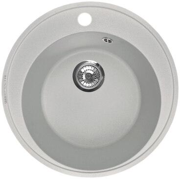 Кухонная мойка Respecta Sfera RS-45 серый жемчуг RS45.107 1