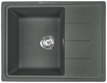 Кухонная мойка Respecta Tira RT-62 черный опал RT62.101 1