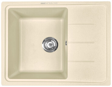 Кухонная мойка Respecta Tira RT-62 натуральный воск RT62.102 1