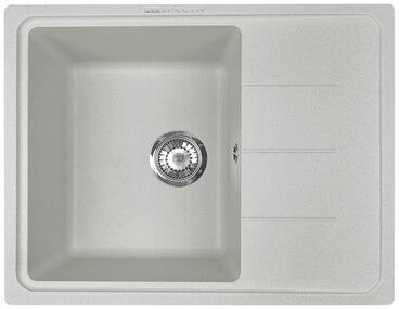 Кухонная мойка Respecta Tira RT-62 серый жемчуг RT62.107 1