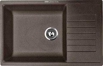 Кухонная мойка Respecta Tira RT-78 горький шоколад RT78.103 1
