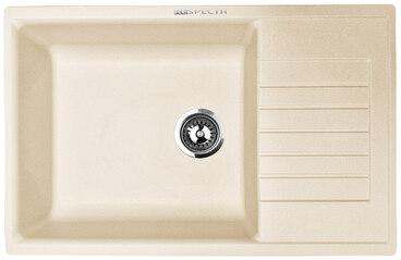 Кухонная мойка Respecta Tira RT-78 натуральный воск RT78.102 1