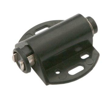 Магнитный держатель для 1 стеклянного фасада черный MH01/BL 1