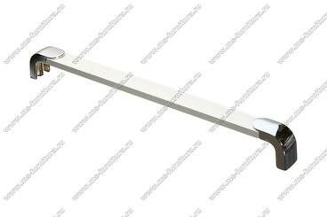 Ручка-рейлинг 224 мм алюминий+хром 14.357 1
