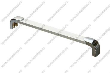 Ручка-рейлинг 192 мм алюминий+хром 14.356 1