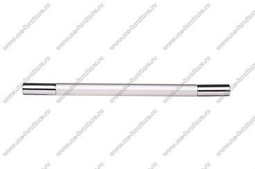 Ручка-рейлинг 160 мм алюминий + хром AL160 2