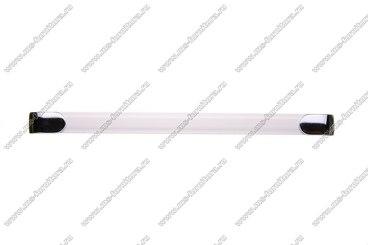 Ручка-рейлинг 224 мм алюминий+хром 14.357 2
