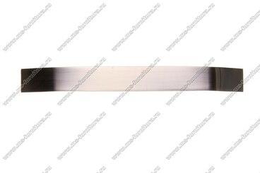 Ручка-скоба 224 мм полированный никель 301-224-v-02 2