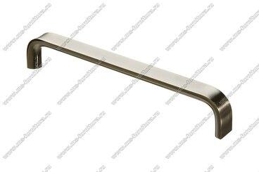 Ручка-скоба 224 мм полированный никель 315-224-000-02 1