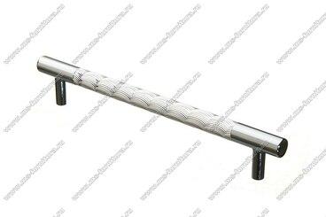 Ручка-рейлинг хром+хром 160 мм 14.257-06 1