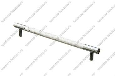 Ручка-рейлинг хром+хром 192 мм 14.258-06 1