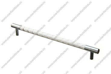 Ручка-рейлинг хром+хром 224 мм 14.258-06 1