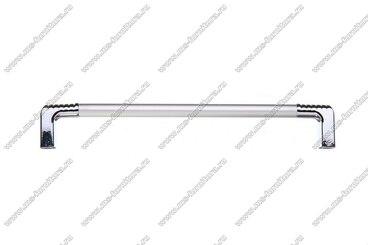Ручка-рейлинг 160 мм алюминий+хром 14.131 3