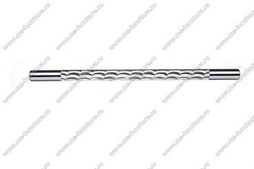 Ручка-рейлинг хром+хром 224 мм 14.258-06 2