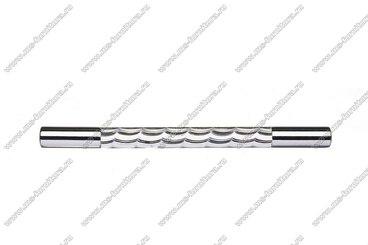 Ручка-рейлинг хром+хром 128 мм 14.256-06 2