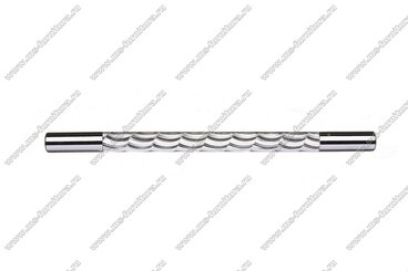 Ручка-рейлинг хром+хром 160 мм 14.257-06 2