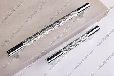 Ручка-рейлинг хром+хром 192 мм 14.258-06 4