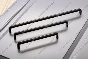 Ручка-скоба 192 мм матовый черный 324-192-000-05 5